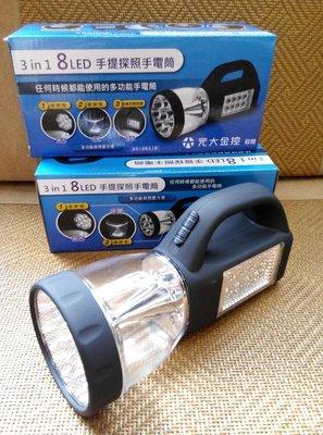 LED探照燈手電筒
