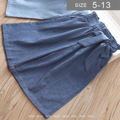 韓版女童寬褲。ROUROU童裝。春夏女...