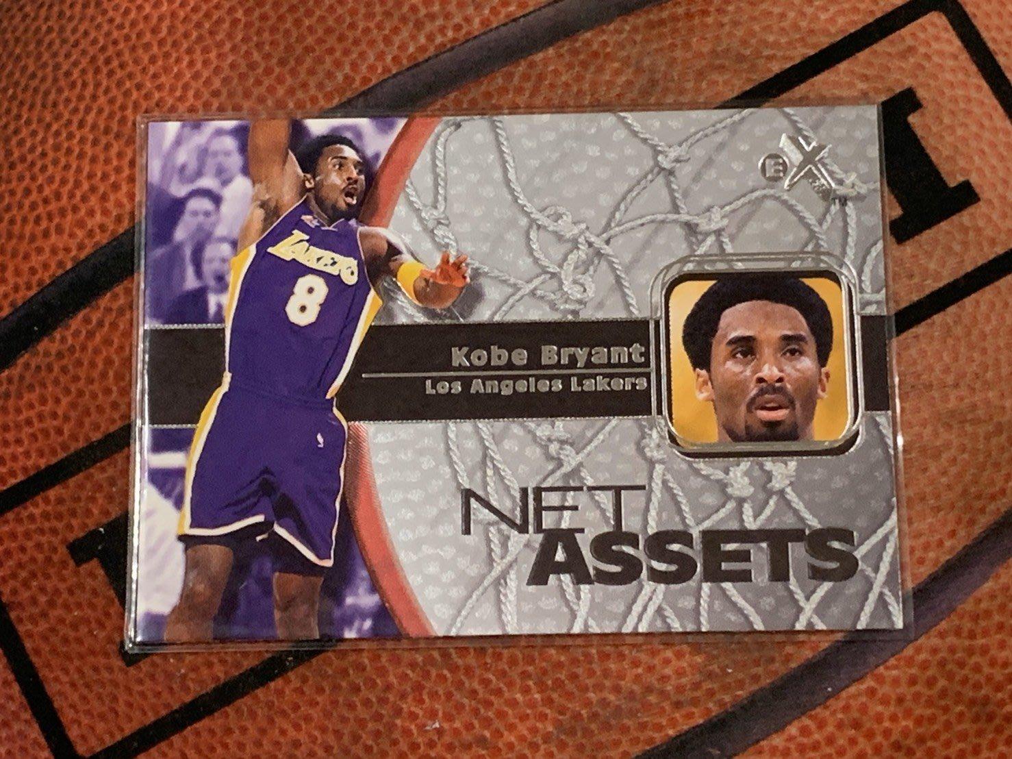 EX  洛杉磯湖人隊 Kobe Bryant 球員卡