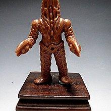 【 金王記拍寶網 】(常5) W5404 早期日版 特攝怪獸 老品一隻 絕版罕見稀少 (櫥櫃袖珍品老玩具珍藏)