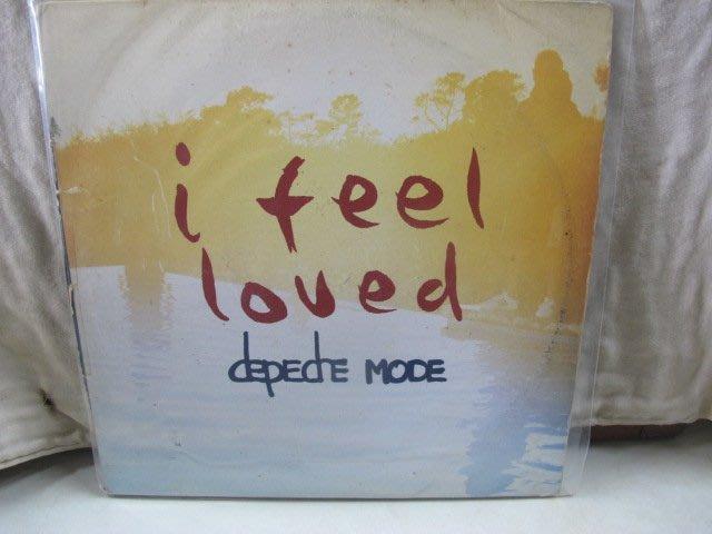 二手舖 NO.3924 黑膠 西洋 Depeche Mode 流行尖端樂團 i feel loved