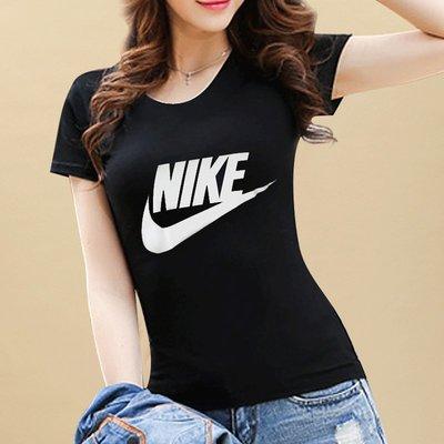 NIKE LOGO TEE 基本款 運動短袖 短TEE 女生 黑色 白色 846469-010 S-XL