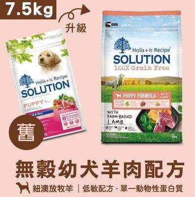 *COCO*耐吉斯超級無穀-幼犬羊肉7.5kg添加超級食物(海藻/石榴/鮭魚油)低敏飼料/單一蛋白/幼母犬/懷孕母犬
