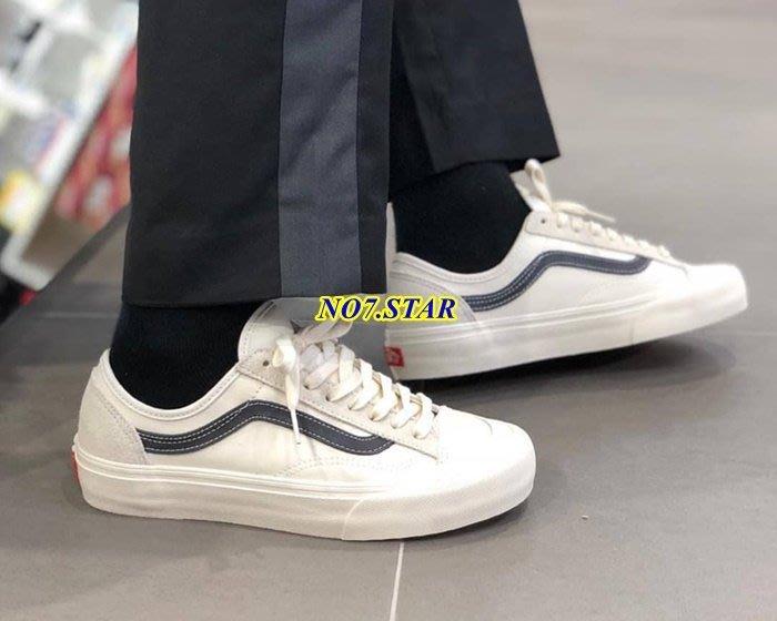 Vans Style 36 Decon SF 短頭 米白 白灰 黑線 殺人鯨 麂皮 帆布 VN0A3MVLN8K 男女