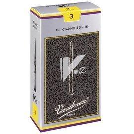 §唐川音樂§【Vandoren V12 Clarinet Reeds 古典 銀盒 豎笛 竹片 10片裝】(法國製)