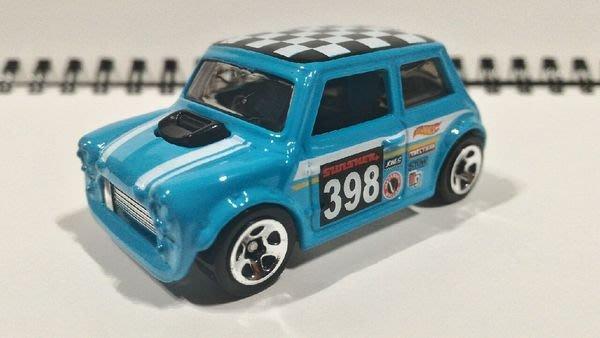 (I LOVE樂多)hot wheelshot wheels morris mini 風火輪 1:64 藍