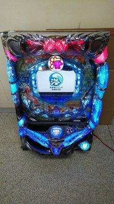 柯先生日本原裝小鋼珠柏青哥 CR 海物語M55X3 經典超炫電玩機台大型電動機台遊藝場的聲光效果刺激在家輕鬆玩 超酷