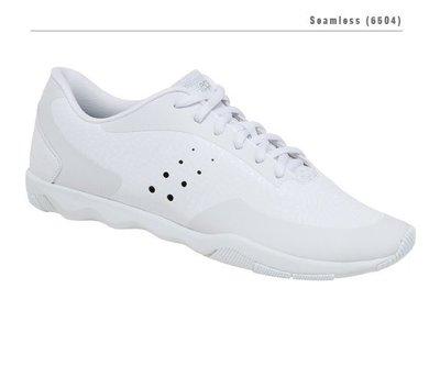 kaepa 白色中性啦啦隊鞋 #6504