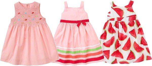 媽咪家【AG034】AG34粉嫩背心洋裝 涼夏 A字裙 背心裙 高腰 傘狀 連身裙~18M.24M.3T.4T.5T