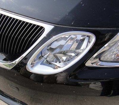 ~圓夢工廠~ Lexus GS300 GS350 GS430 2005~2012 前燈內側鍍鉻飾框 大燈內飾框 遠燈燈框