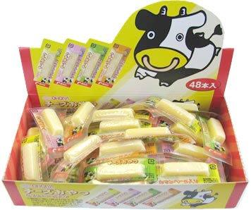 大人氣~ 一口吃原味起司條 (盒裝 48條) 單條包裝  隨身攜帶 補充營養 配酒也很棒喔~ 大人小孩都愛吃