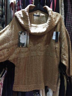 [變身館日本服飾]~OLIVE HUNTER~針織衫~毛衣~上衣~高領~麻花~寬版~日本購入~全新現品~出清價~M