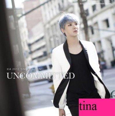 女人的香氣』JYJ金俊秀韓國原版英文單曲XIA English Single Album-Uncommitted贈寫真集