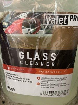 英國 Valet Pro Glass Cleaner (玻璃清潔劑) 500mL分裝 手機 螢幕 風鏡 清潔皆可用
