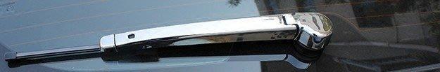 【阿賢小舖】M7 適用於 納智捷2015年後ECO 雨刷飾條 納智捷M7商務車後雨刷亮條貼