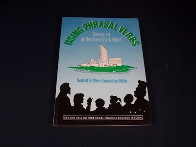 【考試院二手書】《USING PHRASAL VERBS》ISBN:0139414037│British Library Cataloguing│(31C35)