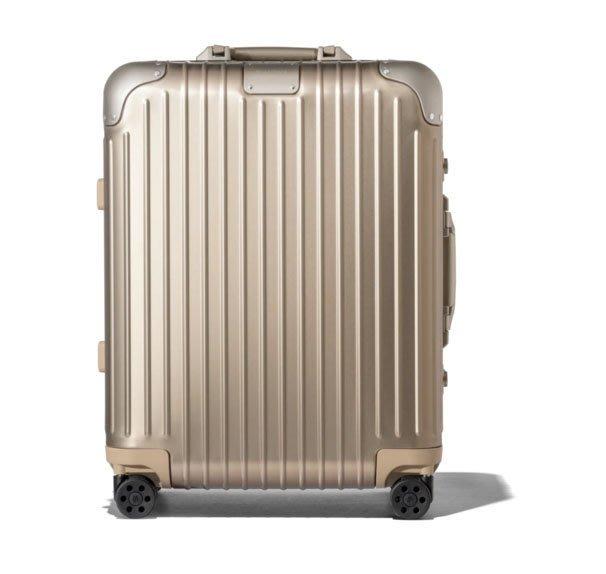 現購含運 RIMOWA ORIGINAL Cabin Plus 新款22吋託運行李箱,送保護套。