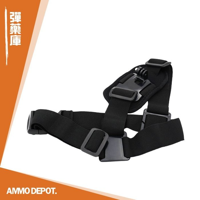 【AMMO彈藥庫】 Gopro Action SJCam 配件 運動相機 單肩 固定綁帶 斜背 肩背帶 DF-V03