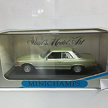 MINICHAMPS 1/43 MERCEDES-BENZ 450 SLC 1972-80 GREEN MET (01140) (BUY)