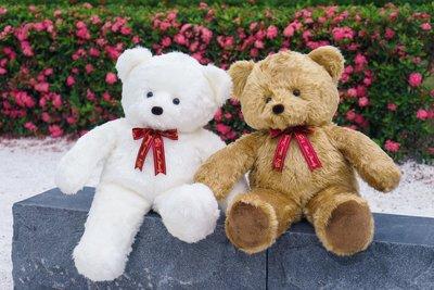 100公分金黃色手工泰迪熊 另有白色/粉紅 代寫卡片 情人節禮物 台灣製造~*小熊家族*~