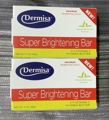 【原廠公司貨】Dermisa 美國超級淡斑皂 第二代 美國第三代 嫩白皂/升級版(消費高手推薦(兩塊為1組)