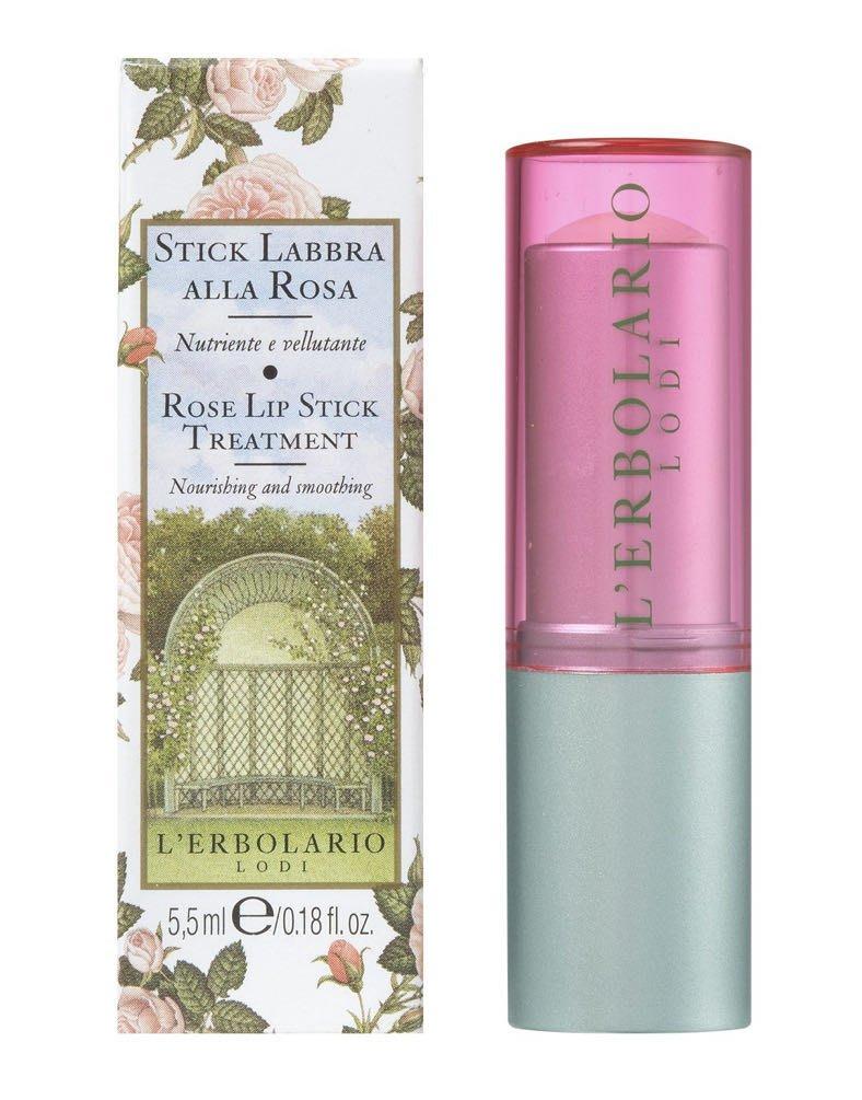【rita小鋪】蕾莉歐 LERBOLARIO 玫瑰保濕護唇膏 5.5ml 《保存期限 2021/7 》