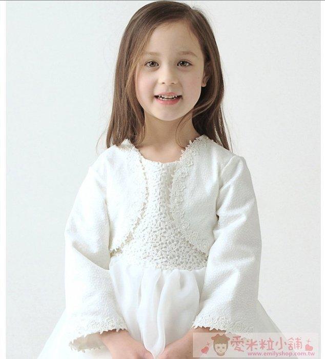 高雅短板繡花禮服外套 兒童禮服小外套 ☆愛米粒☆ A39