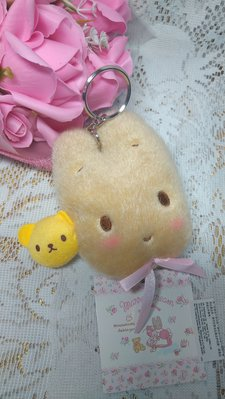 雙子星店 Sanrio Marron Cream 茉莉兔 鎖匙扣拉尺 尺長1.5m 全新 日本