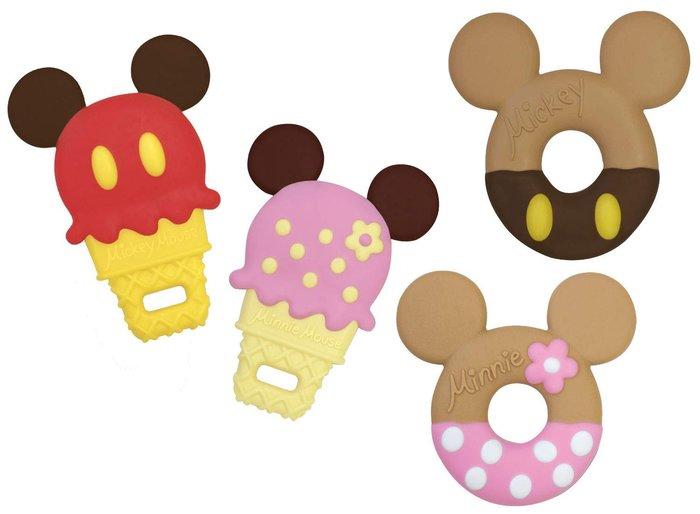 【東京速購】日本迪士尼 米奇 米妮 甜甜圈/冰淇淋造型 嬰幼兒 固齒器/磨牙棒