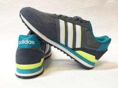 運動GO~ ADIDAS 愛迪達 慢跑鞋 休閒鞋 復古鞋 NEO 麂皮 女款 F99319 大尺寸6.5~8