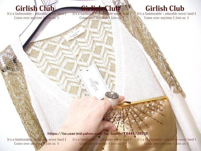 【Girlish Club】韓製zoomag拼接針織外套吊牌價1280(m812)iroo貝爾尼尼羽絨外套二三一元起標