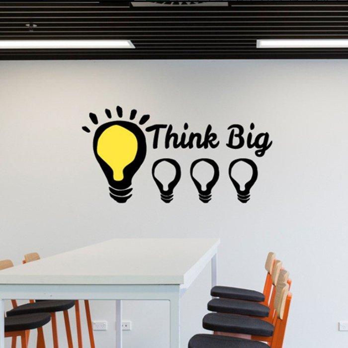 創意壁貼標語牆貼家用裝飾辦公室貼紙標識激勵志(小號)_☆優購好SoGood☆