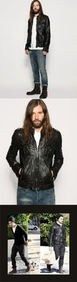All Saints Leather Jacket  英國品牌進口皮衣/搖滾/龐克/British Rock/ 英國空運 現貨+預購