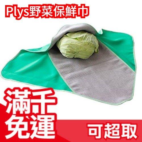 日本 野菜保鮮巾 日本野菜協會認證 蔬菜冷藏冷凍庫保鮮布 保持野菜鮮度 吃到新鮮 調濕❤JP