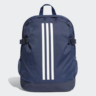 Adidas 全新 深藍色 白線 筆電夾層 背包 後背包 肩背包 書包 運動背包 旅行背包 DM7680