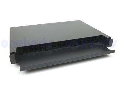 現貨 外銷版 19英吋抽拉式光纖終端盒通盒24口24路 支援 SC LC ST FC耦合器 機櫃式 工作站 CCTV
