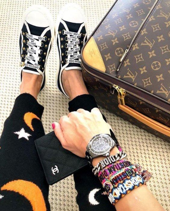 Dior logo Sneakers 休閒鞋 黑