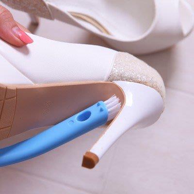 鞋刷軟毛鞋刷家居多功能塑料硬毛清潔刷雙面刷頭生活用品長柄刷子