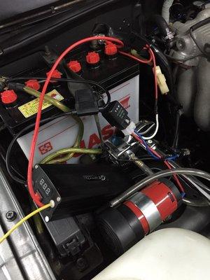 ◇光速改裝精品◇鋰鐵外掛式鋰鐵電池 電瓶輔助馬力加大 延長電瓶壽命專利設計