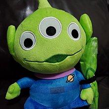 """全新 Disney Toy Story 迪士尼 反斗奇兵 - Alien """"三眼仔"""" 超可愛 立體造型 毛公仔連環保袋 擺設公仔"""