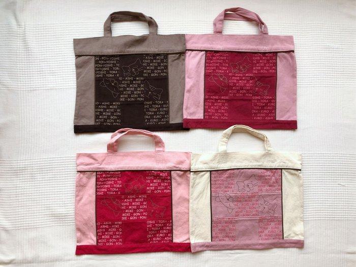 日本卡拉貓~九宮格印刷貓手提袋