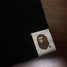 日本mastermind japan bathing ape 聯名款骷髏骨頭猿人迷彩box logo黑色短袖T恤tee