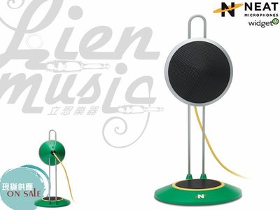 『立恩樂器』免運優惠 NEAT Microphones WIDGET A 款 USB 麥克風 for Mac PC 錄音