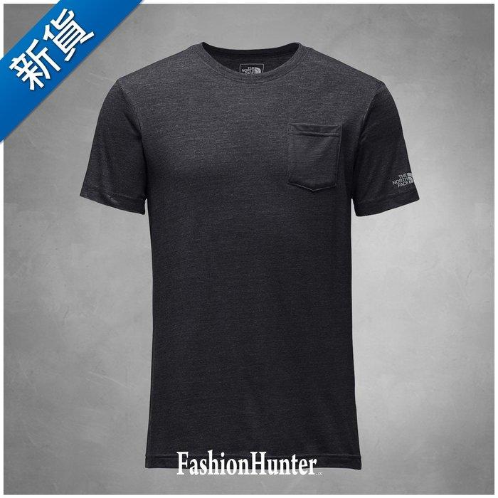 新貨【FH.cc】The North Face 口袋T恤 素t Pocket Tee 深灰 TNF