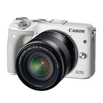 《晶準數位》Canon EOS M3 18-55STM (中文平輸)內建閃光燈.可翻式LCD
