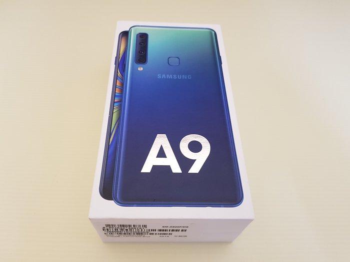 全新僅拆封未使用 三星 Samsung Galaxy A9 2018 2400萬 四鏡頭 6.3吋 6G+128G 藍