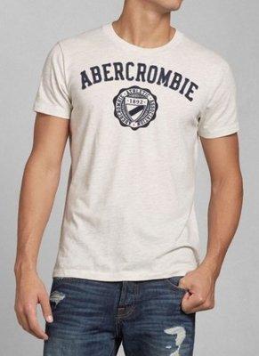 AF Abercrombie&Fitch 麋鹿 徽章 短T 現貨
