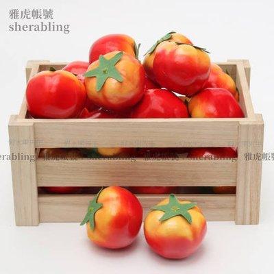 (MOLD-A_203)仿真蔬菜水果食品模型攝影裝飾道具飯店布置擺件仿真西紅柿番茄輕款