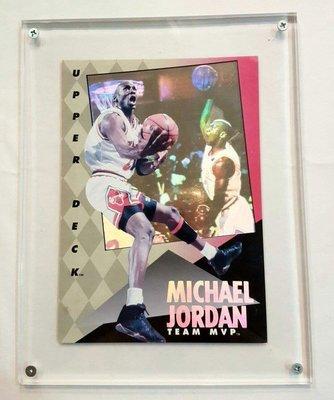 《金塊》NBA Michael Jordan Team MVP 限量球卡 閃卡 特卡