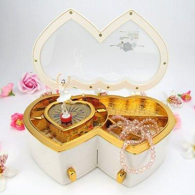☜男神閣☞音樂盒八音盒女生跳芭蕾舞女孩旋轉歐式發條兒童公主生日創意禮物